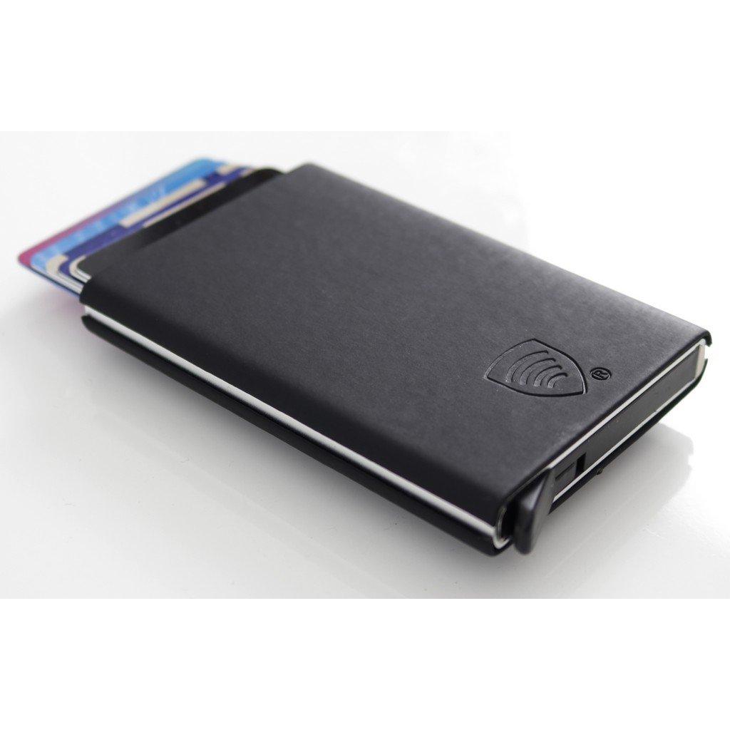 Aluminiowe etui na karty zbliżeniowe RFID