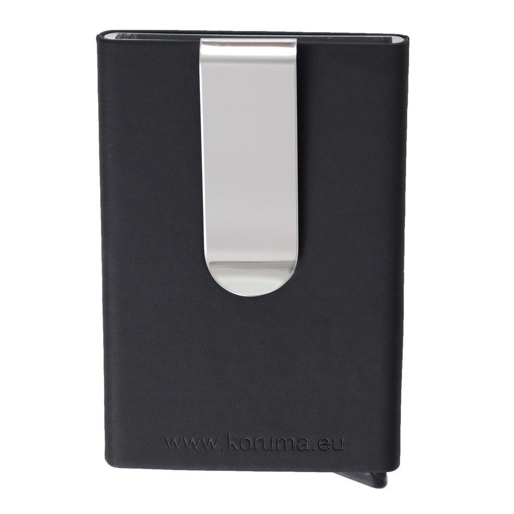 Sztywne etui RFID z wysuwanymi kartami zbliżeniowymi