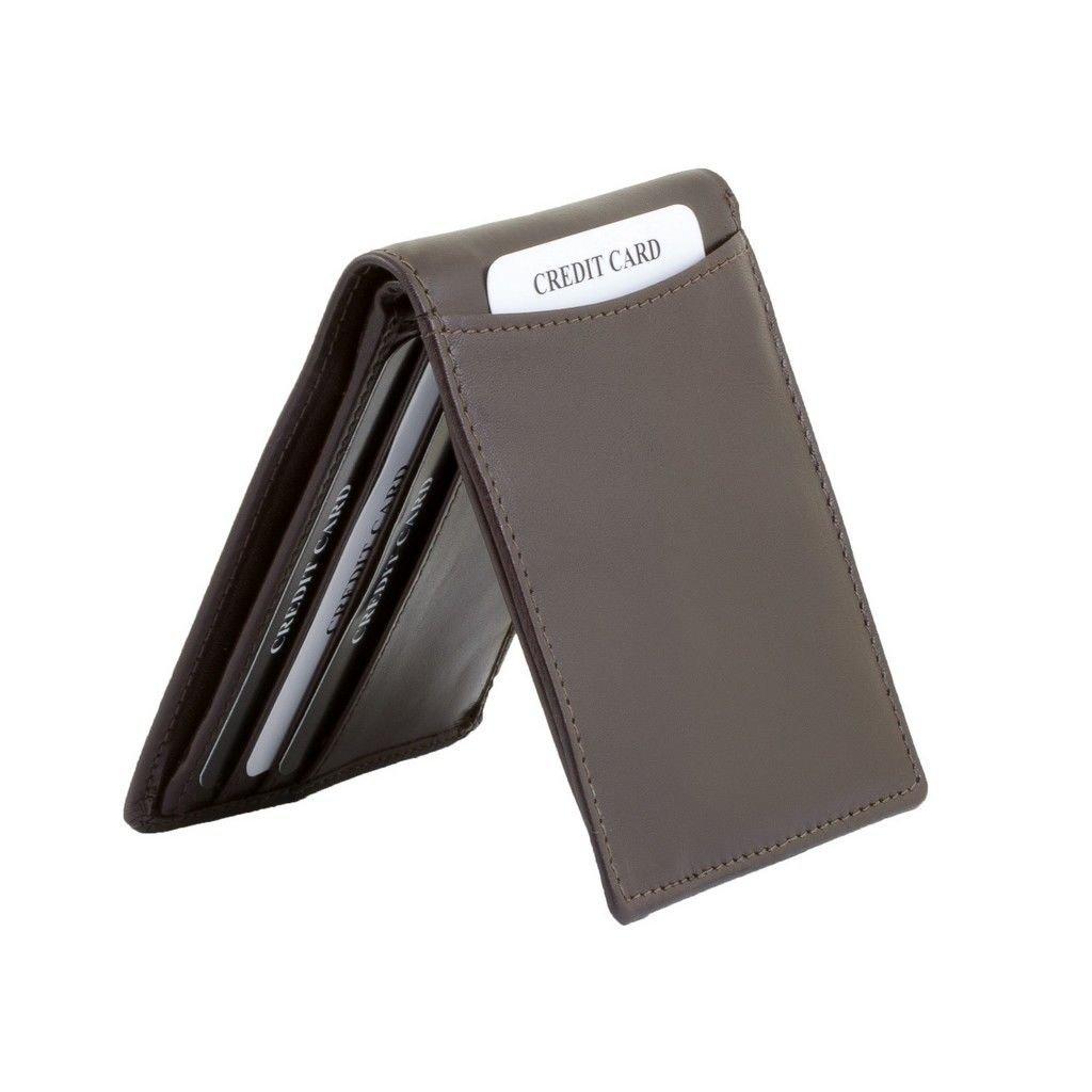 76220233ebfc3 ... Cienki portfel na banknoty oraz karty zbliżeniowe (Brązowy) Kliknij