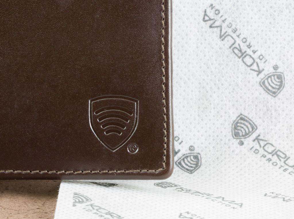 defe445ec2032 ... Cienki portfel na banknoty oraz karty zbliżeniowe (Brązowy) Kliknij