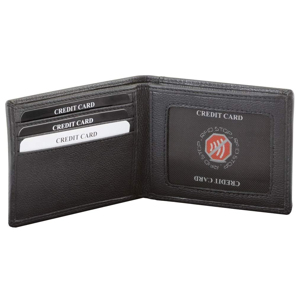 ed2d0b5f6d2e Najmniejszy portfel na banknoty oraz karty zbliżeniowe (Czarny) Kliknij