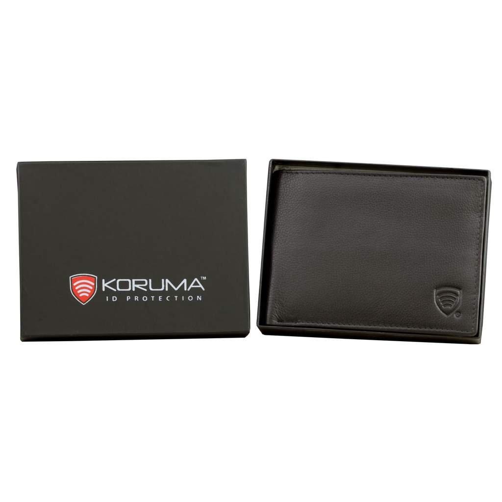 e8be997fd0b6b Skórzany portfel anty paypass - ochrona kart RFID
